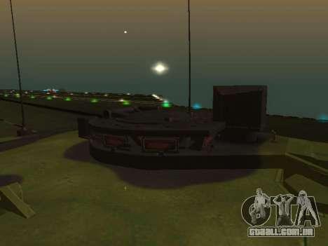 Challenger 2 para GTA San Andreas vista traseira
