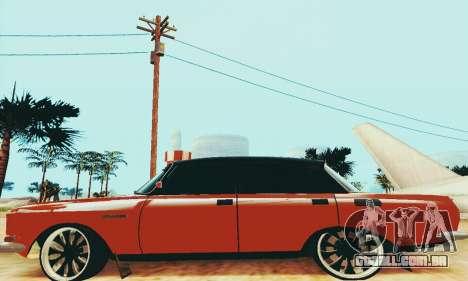 2140 Moskvich para GTA San Andreas traseira esquerda vista