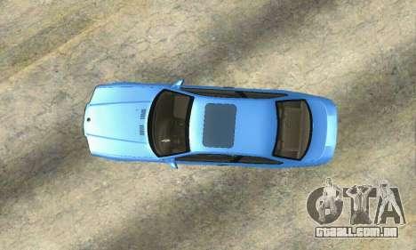 BMW M3 (E36) para GTA San Andreas vista traseira