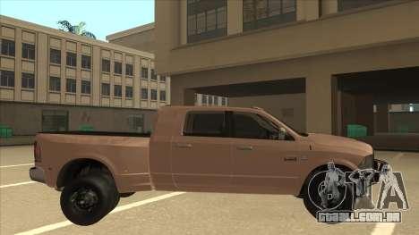 Dodge Ram [Johan] para GTA San Andreas traseira esquerda vista