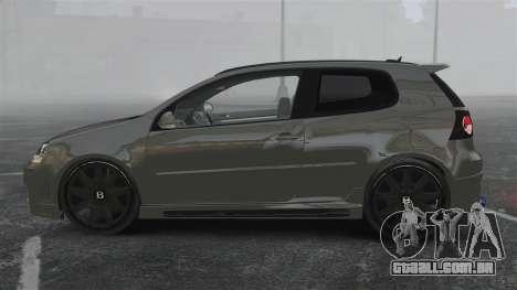 Volkswagen Golf GTi DT-Designs para GTA 4 esquerda vista