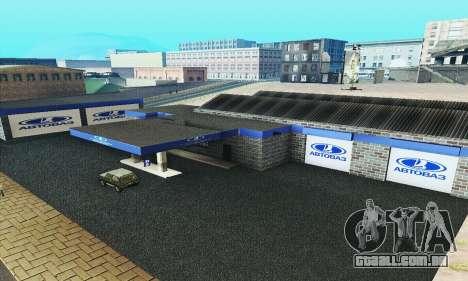 Nova garagem em Doherty para GTA San Andreas