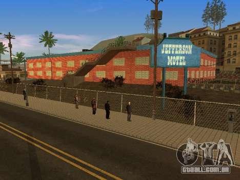 Novas texturas em Jefferson para GTA San Andreas nono tela