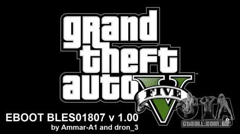 GTA 5 Hacks For 1.00 By Ammar-A1 V4 BLES para GTA 5
