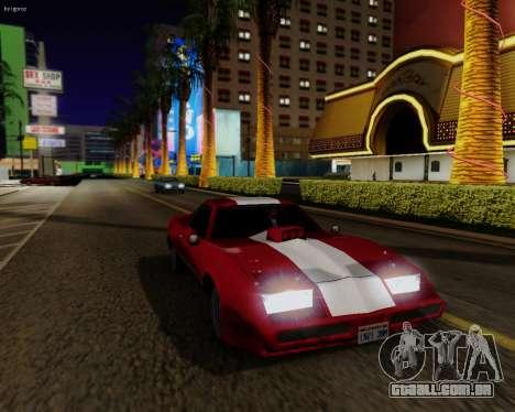 ENBSeries para PC poderoso para GTA San Andreas quinto tela