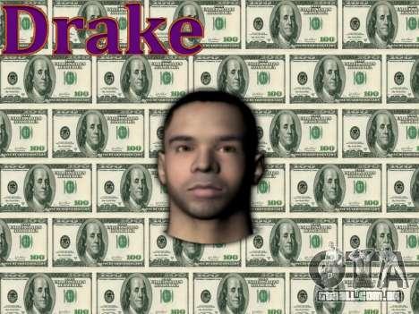 Drake para GTA San Andreas terceira tela