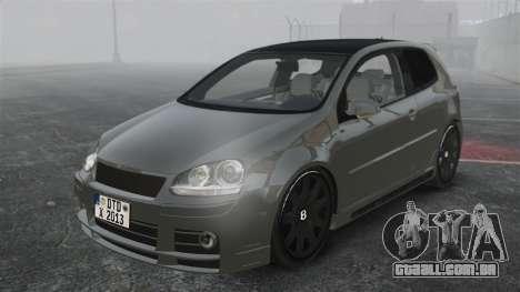 Volkswagen Golf GTi DT-Designs para GTA 4