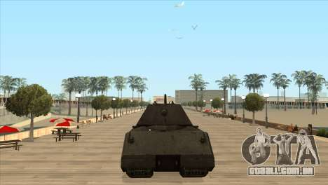 Panzerkampfwagen VIII Maus para GTA San Andreas terceira tela