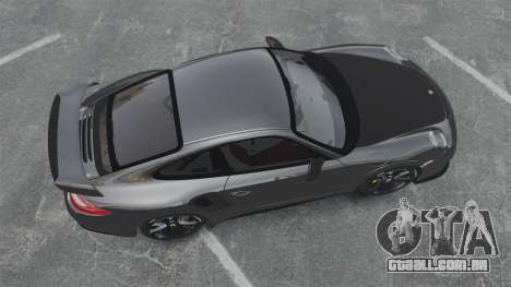 Porsche 997 GT2 2012 Simple version para GTA 4 vista direita