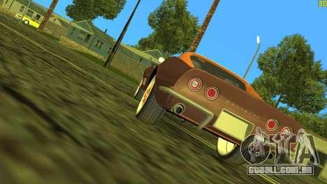 Chevrolet Corvette C3 Tuning para GTA Vice City vista traseira