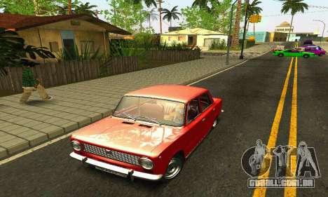 BPAN VAZ 2101 para GTA San Andreas interior