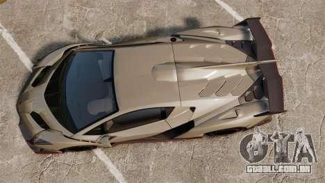 Lamborghini Veneno para GTA 4 vista direita