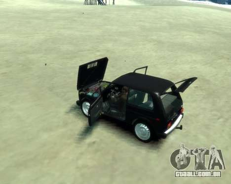 VAZ 2121 Niva para GTA 4 vista direita