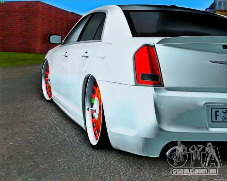 Chrysler 300C SRT-8 MANSORY_CLUB para GTA San Andreas vista traseira