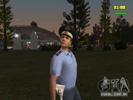 DPS oficial para GTA San Andreas segunda tela