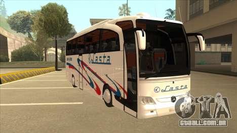 Mercedes-Benz Lasta Bus para GTA San Andreas esquerda vista