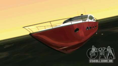 Cartagena Delight Luxury Yacht para GTA Vice City deixou vista