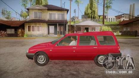 IZH 21261 Fabula BETA para GTA San Andreas esquerda vista