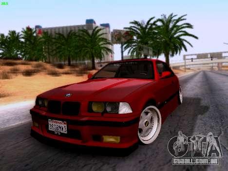BMW M3 E36 Stance para GTA San Andreas vista direita