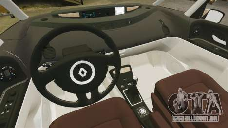 Renault Espace IV Initiale para GTA 4 vista interior