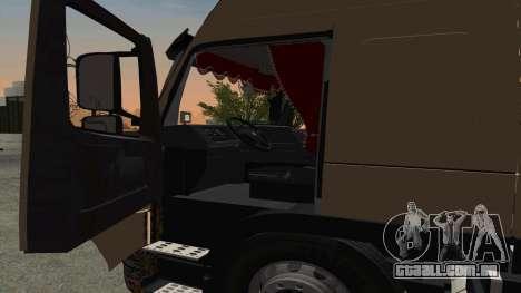 Volvo FM16 para GTA San Andreas vista traseira
