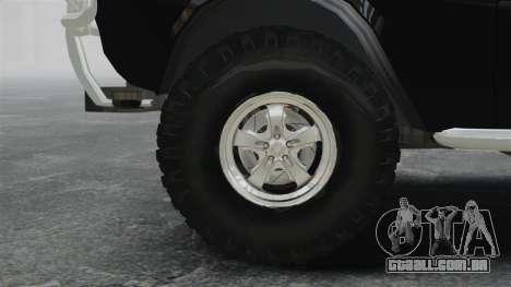 GAZ 2402-4 x 4 pick-up para GTA 4 vista de volta