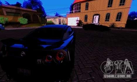 Realistic ENBSeries para GTA San Andreas quinto tela