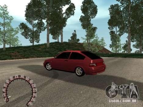 VAZ 21123 para GTA San Andreas traseira esquerda vista