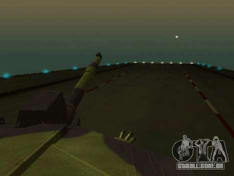 Challenger 2 para GTA San Andreas vista interior