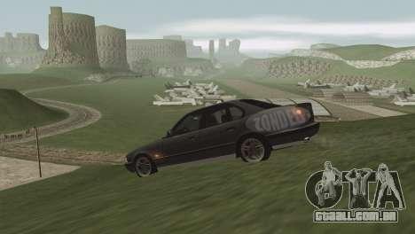 Grama em Las Venturase. para GTA San Andreas oitavo tela