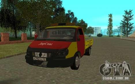 3302 gazela reboque negócios para GTA San Andreas
