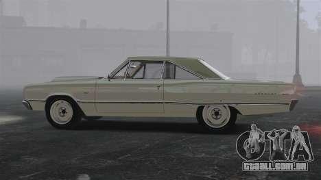 Dodge Coronet 440 1967 para GTA 4 esquerda vista
