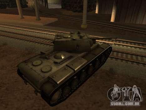 KV-1 para GTA San Andreas esquerda vista