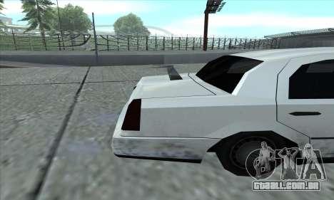 O trecho de GTA 5 para GTA San Andreas vista direita