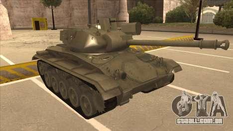 M41A3 Walker Bulldog para GTA San Andreas esquerda vista