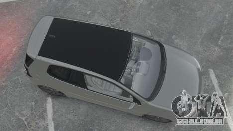 Volkswagen Golf GTi DT-Designs para GTA 4 vista direita