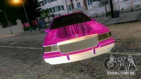 Cadillac Fleetwood Coupe para GTA Vice City vista direita