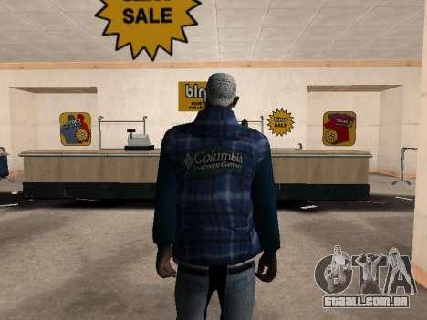 A nova jaqueta CJ para GTA San Andreas