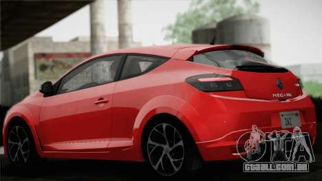 Renault Megane RS Tunable para as rodas de GTA San Andreas