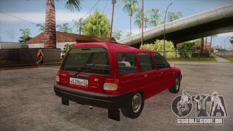 IZH 21261 Fabula BETA para GTA San Andreas vista direita