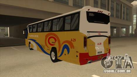 Yellow Bus Line A-29 para GTA San Andreas vista direita