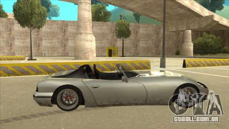 Banshee Stance para GTA San Andreas traseira esquerda vista