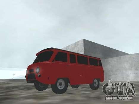 UAZ 22069 para GTA San Andreas esquerda vista