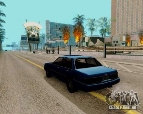 ENBSeries para PC poderoso para GTA San Andreas segunda tela