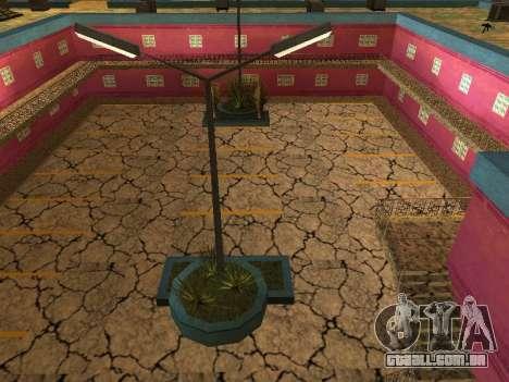 Novas texturas em Jefferson para GTA San Andreas por diante tela