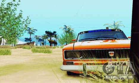 2140 Moskvich para GTA San Andreas vista traseira