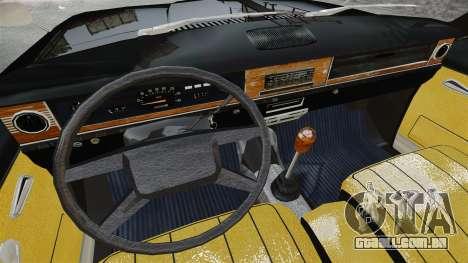 GAZ 2402-4 x 4 pick-up para GTA 4 vista interior