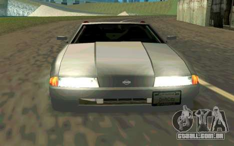 Elegy Cabrio para GTA San Andreas vista direita