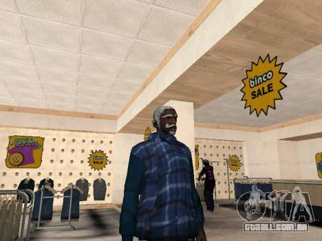 A nova jaqueta CJ para GTA San Andreas segunda tela
