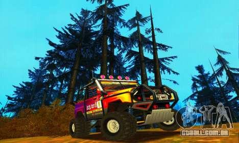 UAZ Hunter julgamento para GTA San Andreas